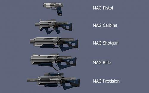 Khall's Carbines/Shotguns + Extras Mod V1.09