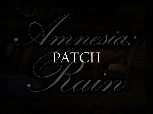 Amnesia: Rain 1.0+ (Patch)