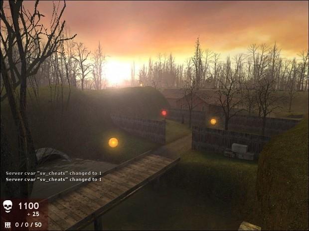 Zombie Master: Backwoords Map (Beta 4)