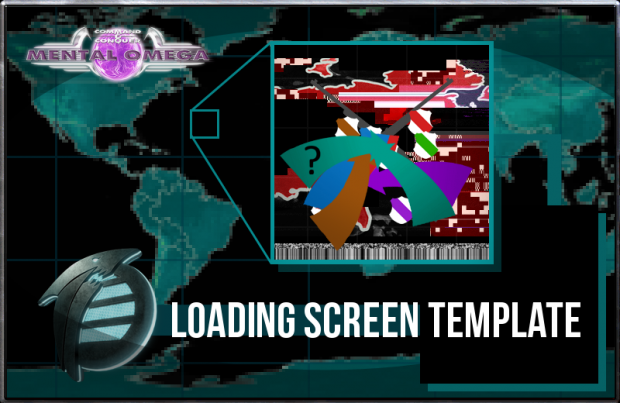 Mental Omega Loading Screen Template