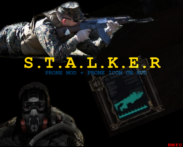 Prone mod for SoC + Player icon