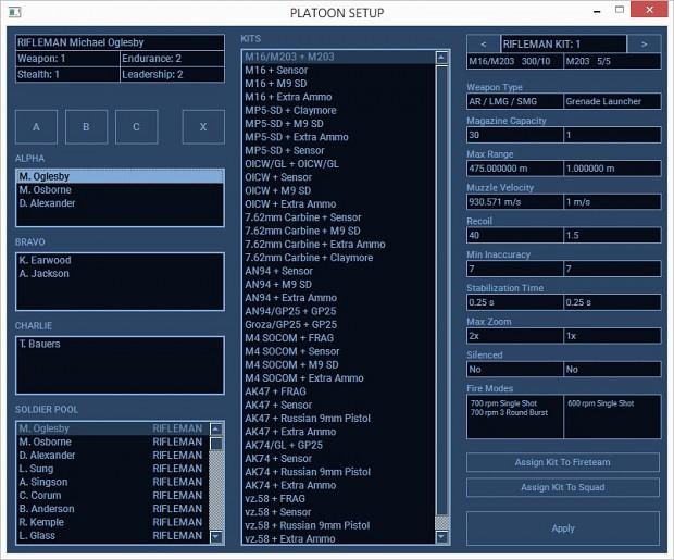 Platoon Setup tool v1.0