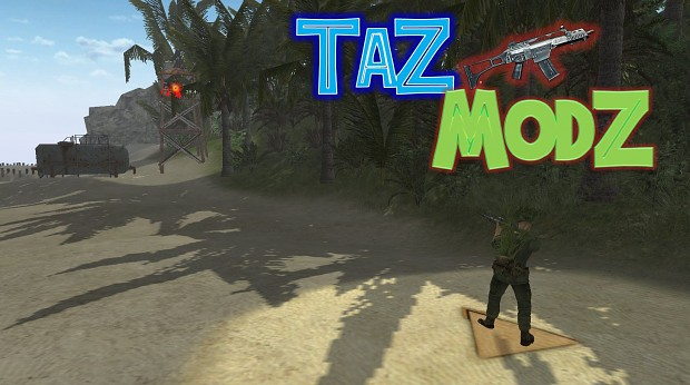 Tazmodz - Rifle Binocular Feature Mod