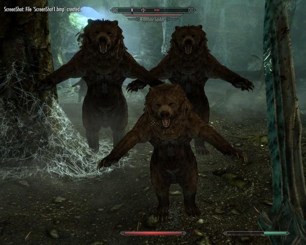 Bear Spiders Mod