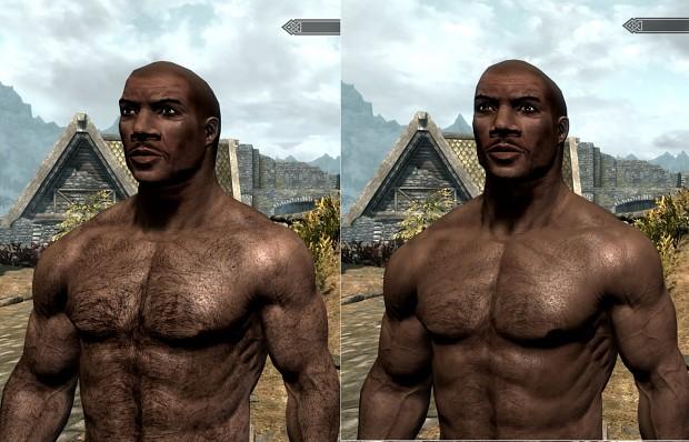 I Wash - New Skin for Skyrim