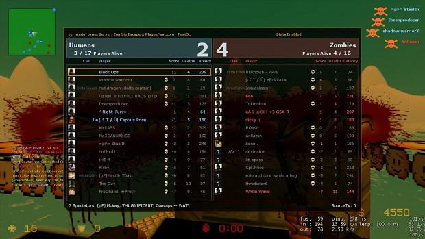 Counter-Strike: Source Zombie Mod Script