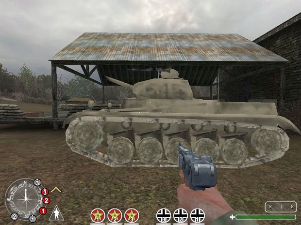 Changes all T34 to Crusader Tanks even on foy
