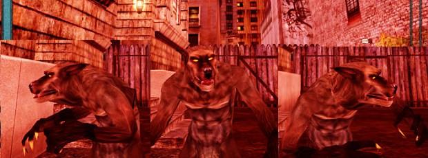Gangrel Wolf-like Beast Form