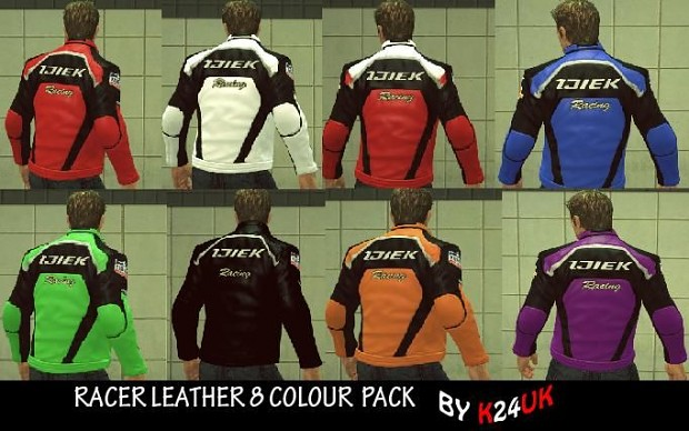 Various Coloured Jackets