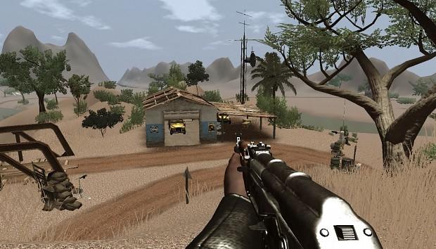 Far Cry 2 Team Deathmatch Map Savannah Fort Battle