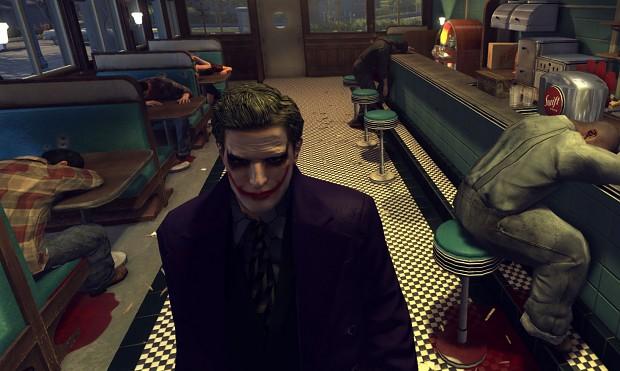 The Joker Skin v.2 - Face / Suit + Overcoat