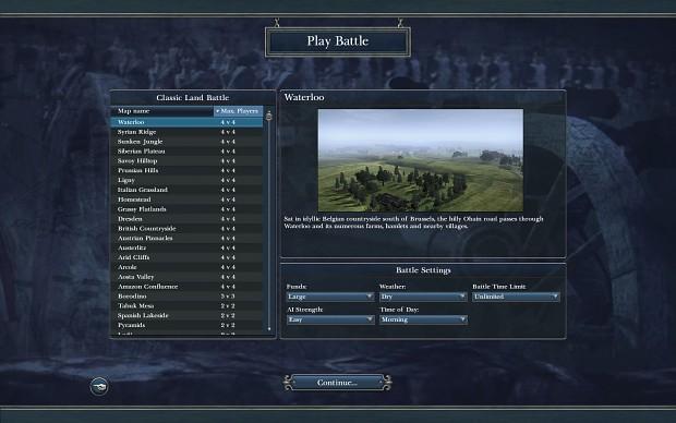 Additional Battle Maps