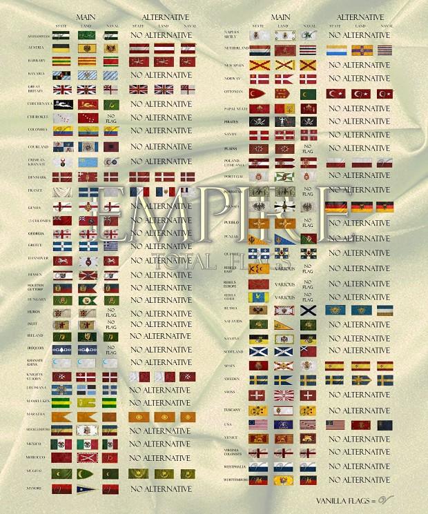 Empire Total Flags V.2.8