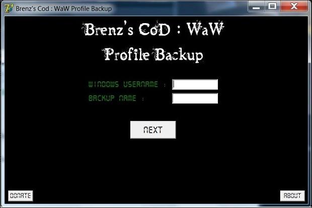 Brenz's CoD: WaW Profile Backup 1.1