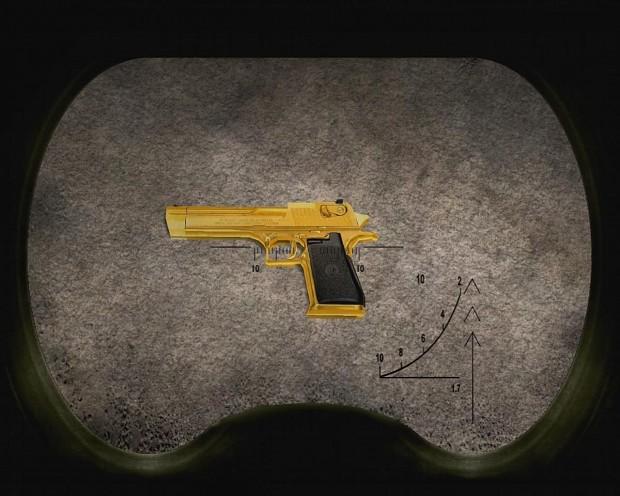 5 golden weapons + an special colt-1911 (kora-919)