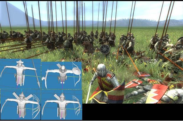Mongols and Scotland Models