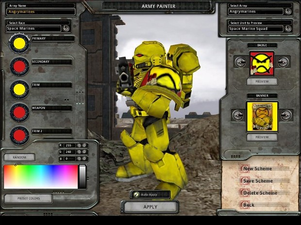 Angry Marines Banner and Badge Pack 1.2