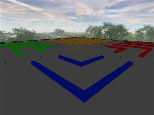 SNES Mario Kart Battle Arena 1.0