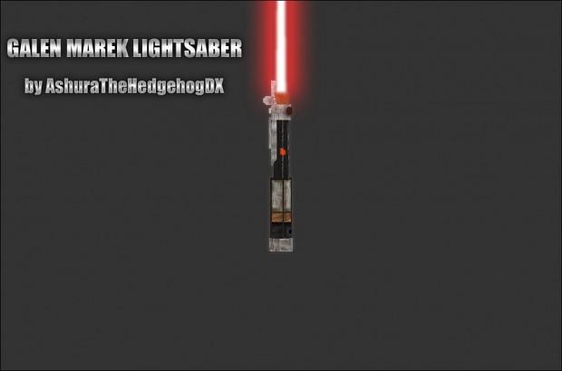 Galen Marek's lightsaber + New Animations