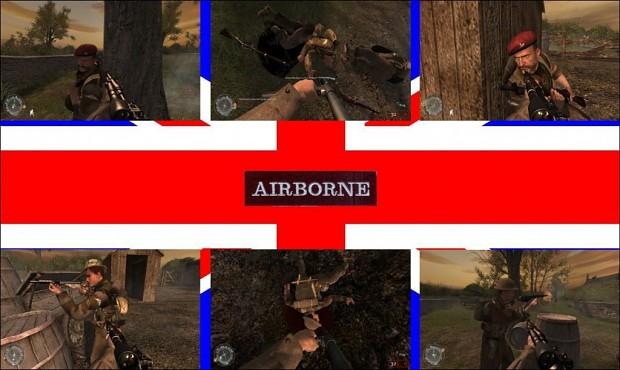 British Paratroops Normandy