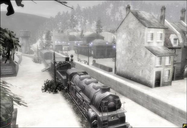 Mountain Trainstation 1.0