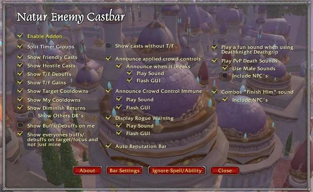 Natur Enemy Castbar