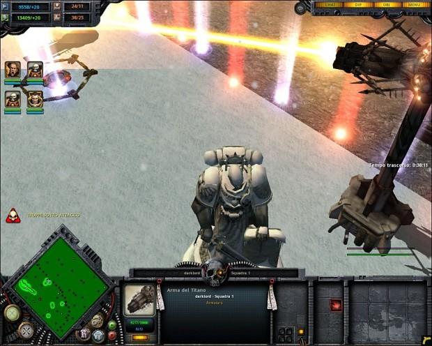Heresy of chaos vs Space Marine 0.5