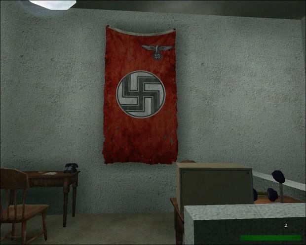 New swastika banners
