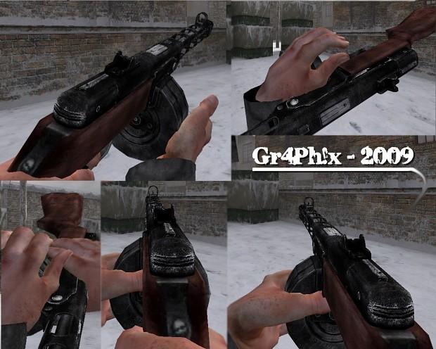 Gr4Ph!x PPSH Skin v1.0