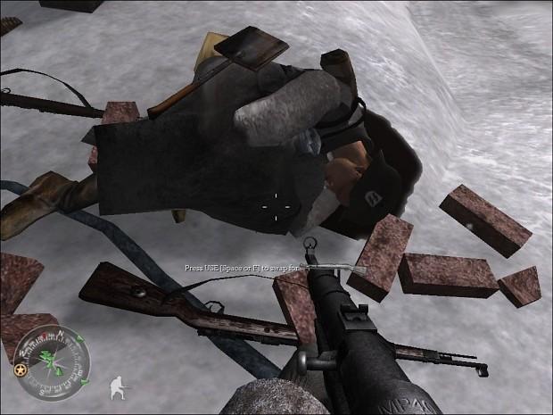 Full Winter Waffen SS Camo