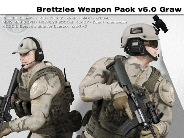 Brettzies Weapon Pack 5.0