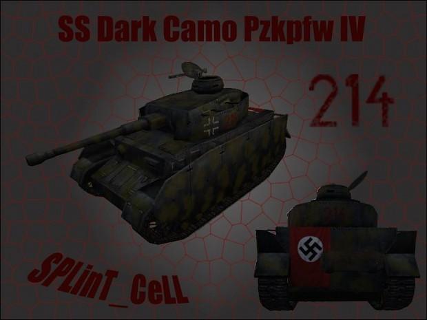 SPLinT_CeLL's Dark Camo SS Pzkpfw IV 1.0