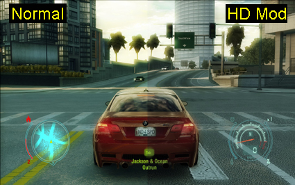 NFS UnderCover HD Texture Pack