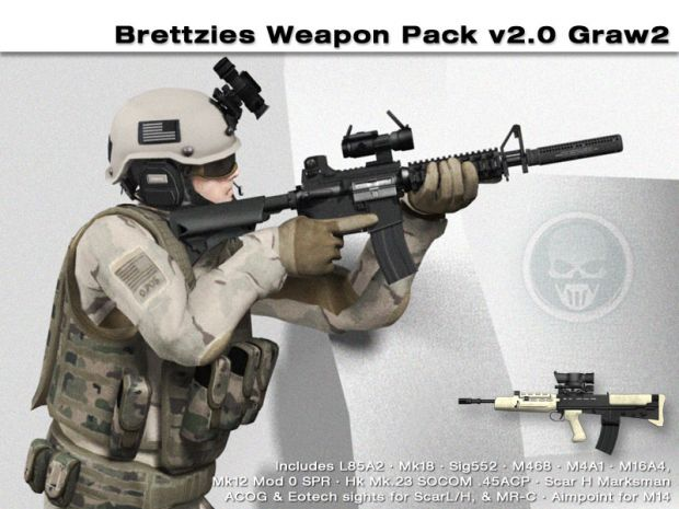 Brettzies Weapon Pack v2.07 - Graw2