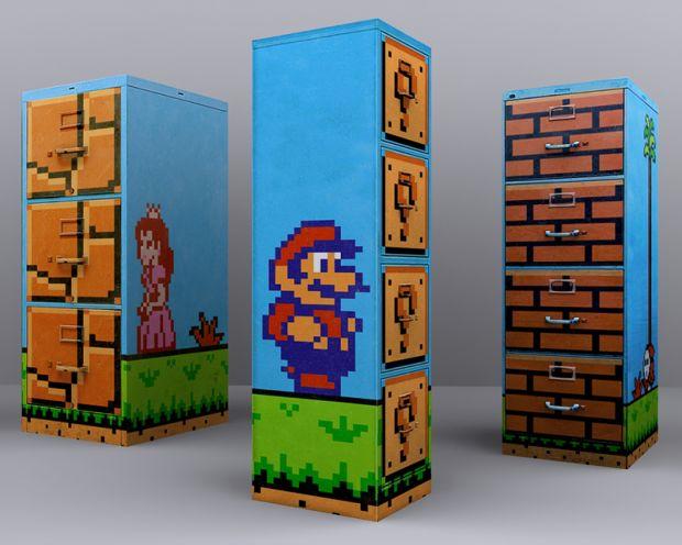 Super Mario CS:Source Filing Cabinets