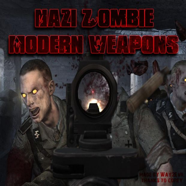 Nazi Zombie Modern Weapons beta release