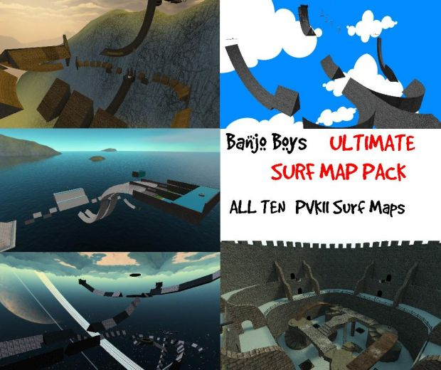 PVKII Ultimate Surf Map Pack