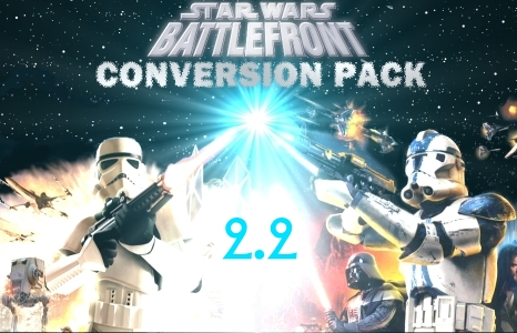 Star Wars Battlefront Conversion Pack v2.2 Patch