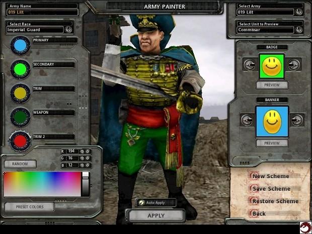 Team Colourable Commissar