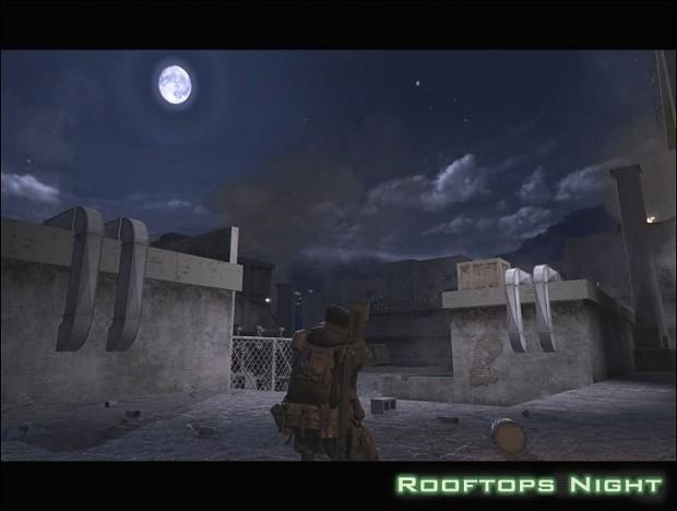 Rooftops (Night, Beta)