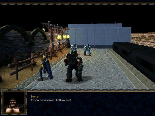 Warcraft 3 Final Fantasy VII 1.5 Map