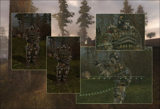 Shade 117' Stalker' Faction Retexture Pack 1.0