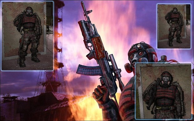 """Duty """"Red Camo"""" Pack for Clear Sky 1.0"""