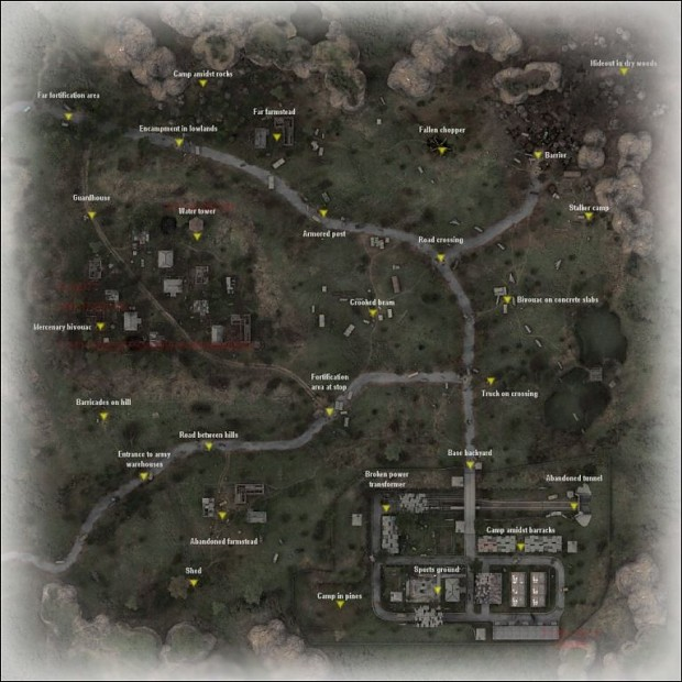 PDA Maps with Point Names - Map-Pack 1.2