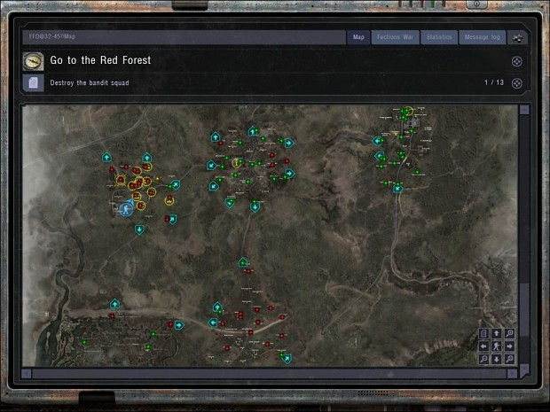 PDA maps with point names - map-pack 1.1