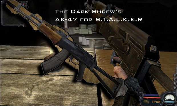 AK-47 for Clear Sky 1.0