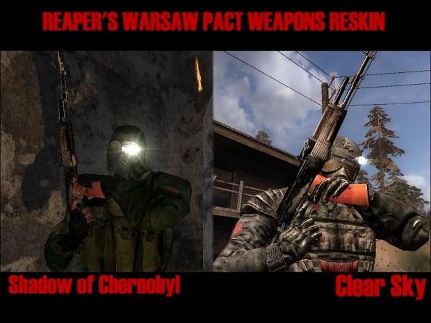 Reaper's Warsaw Pact Weapons Reskin 1.0