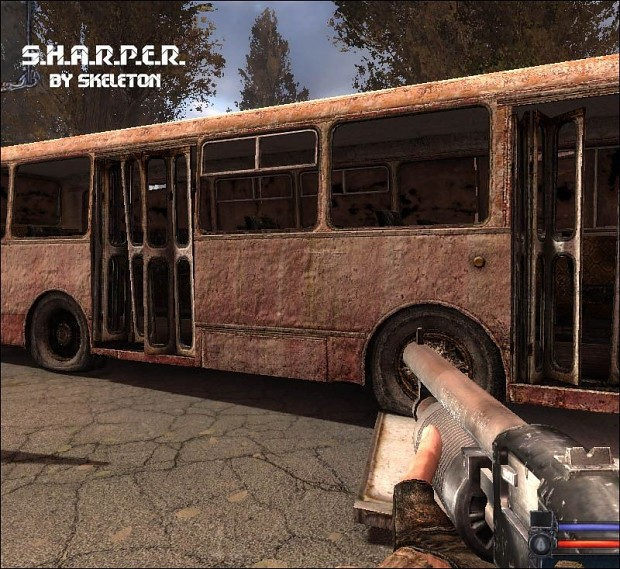 S.H.A.R.P.E.R. textures - 2 of 3 - Items-Weapons-Vehicles 1.0
