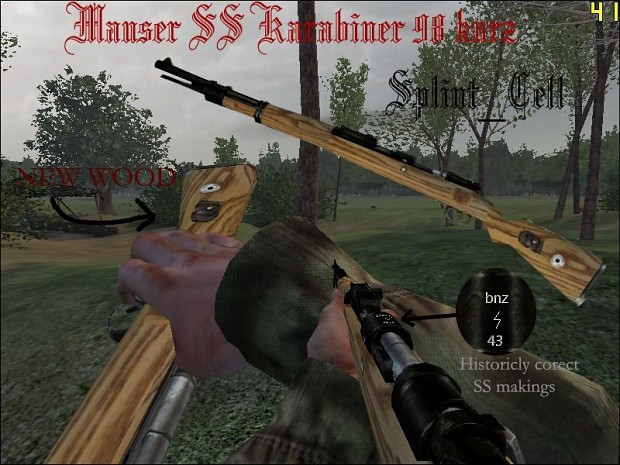 SPLinT_CeLL's SS Marked Kar98k 2.0
