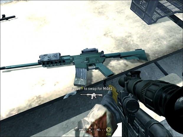M4 AK5 Skin 1.0